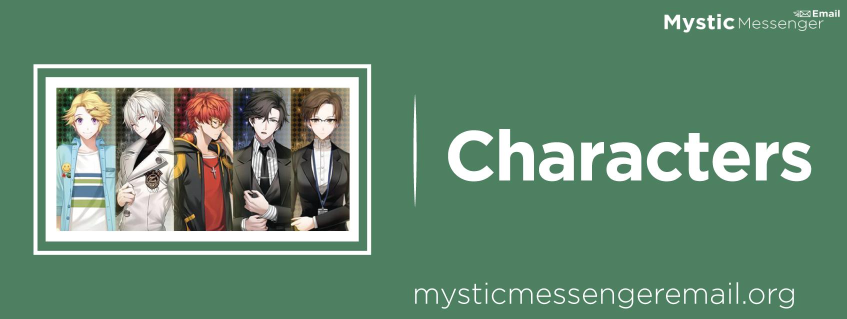 mystic-messenger-characters